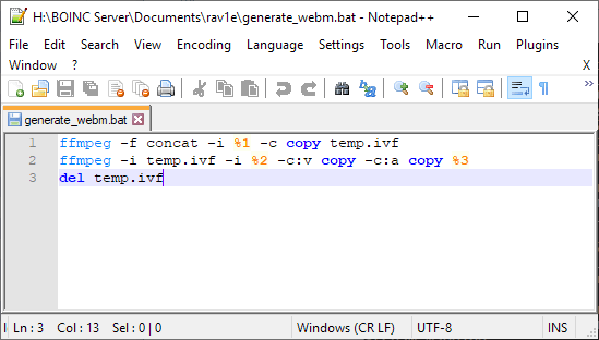 Script to merge the .ifv files into the final .webm file