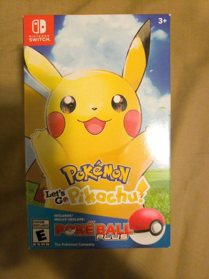 Pokemon Let's Go Pikachu 2