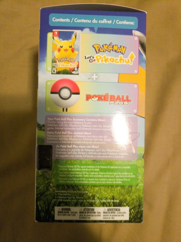 Pokemon Let's Go Pikachu 4