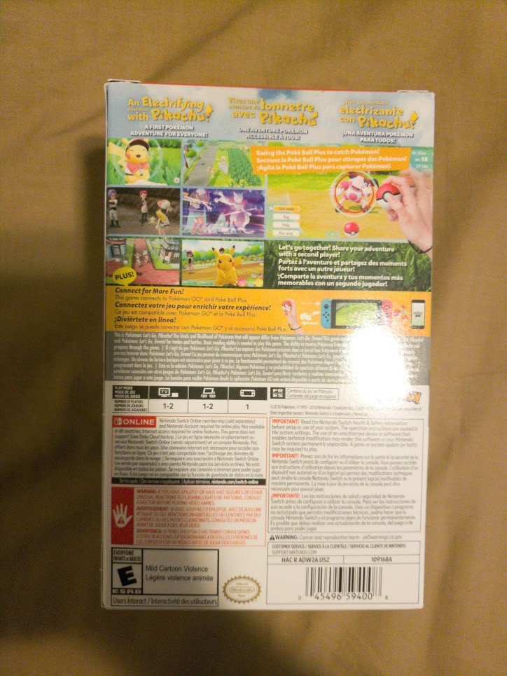 Pokemon Let's Go Pikachu 5