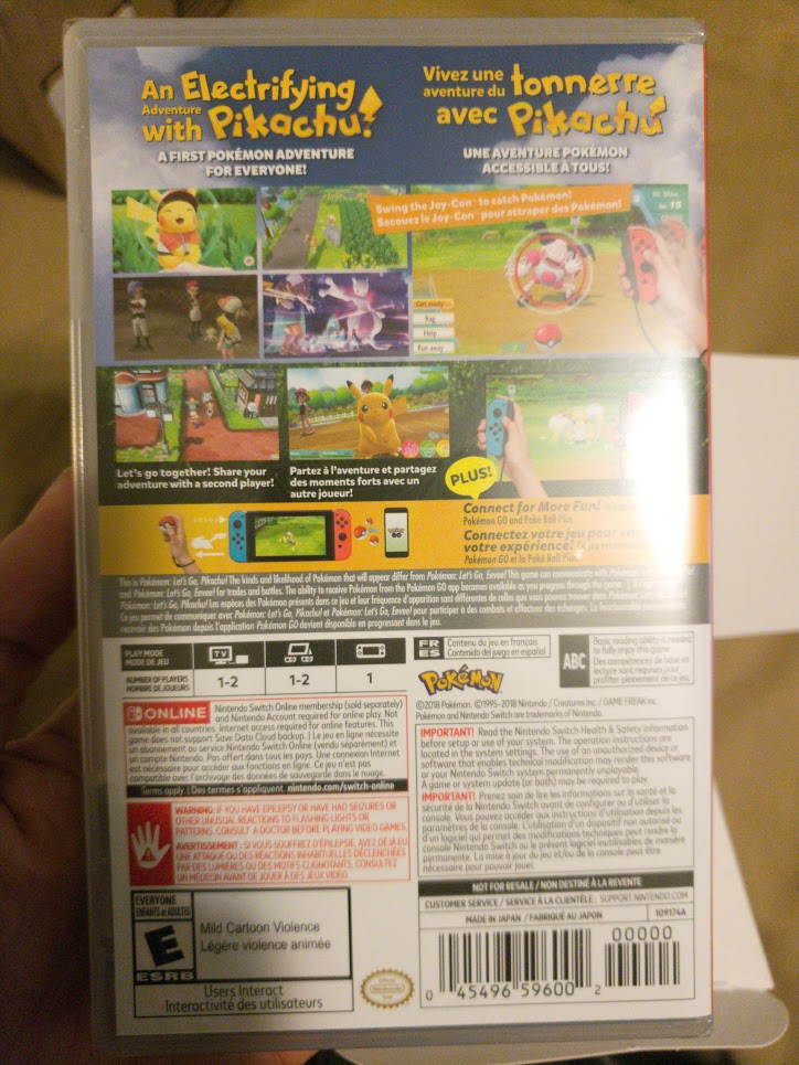 Pokemon Let's Go Pikachu 8