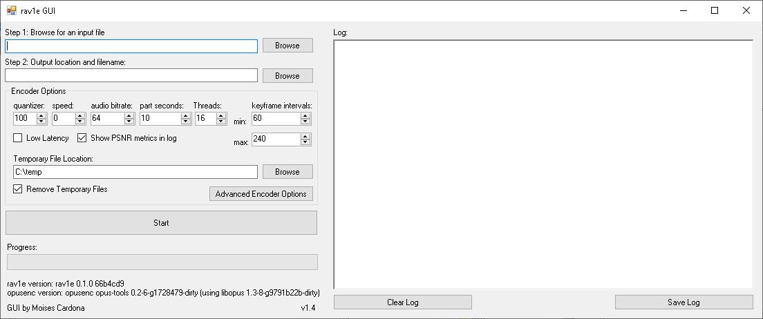 rav1e GUI v1.4