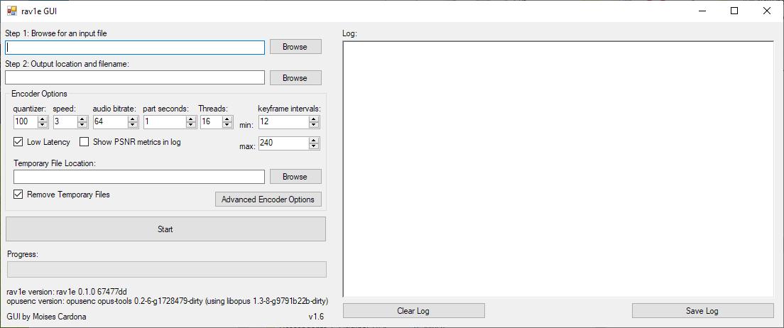rav1e GUI v1.6