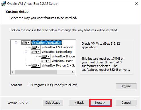 Installing Virtualbox 2