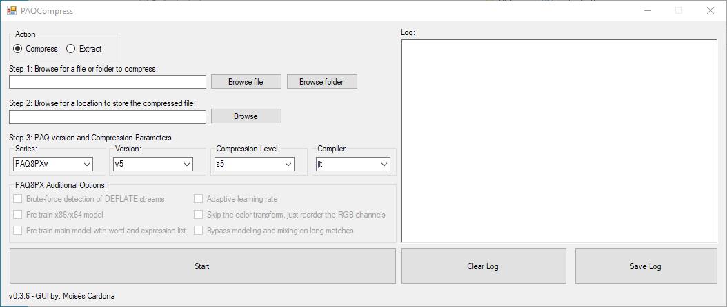 PAQCompress v0.3.6