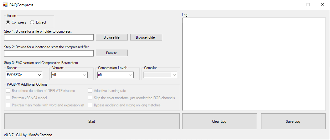 PAQCompress v0.3.7