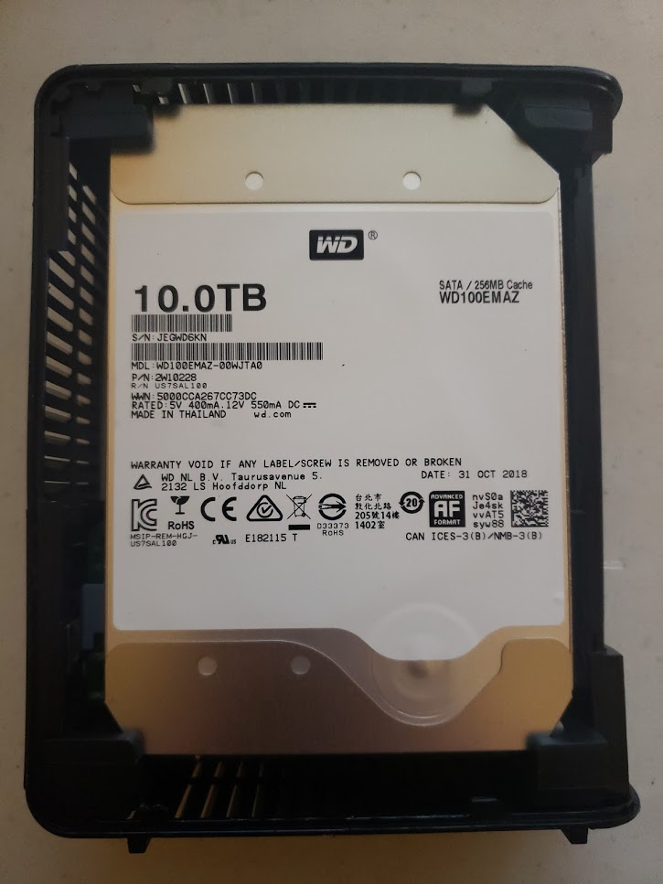 Shucking the Western Digital WD Elements 10TB External Hard