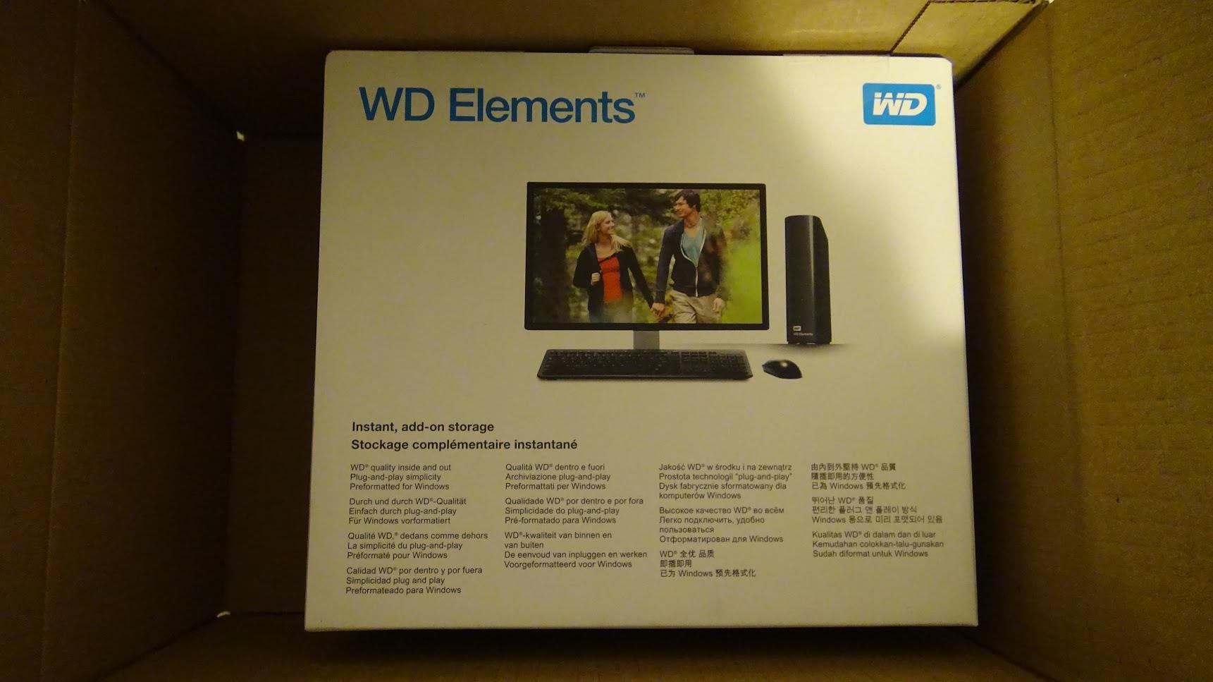 WD Elements 10TB 1