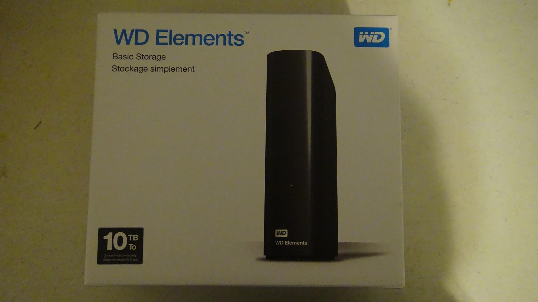 WD Elements 10TB 2