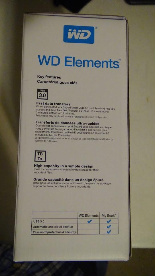 WD Elements 10TB 4