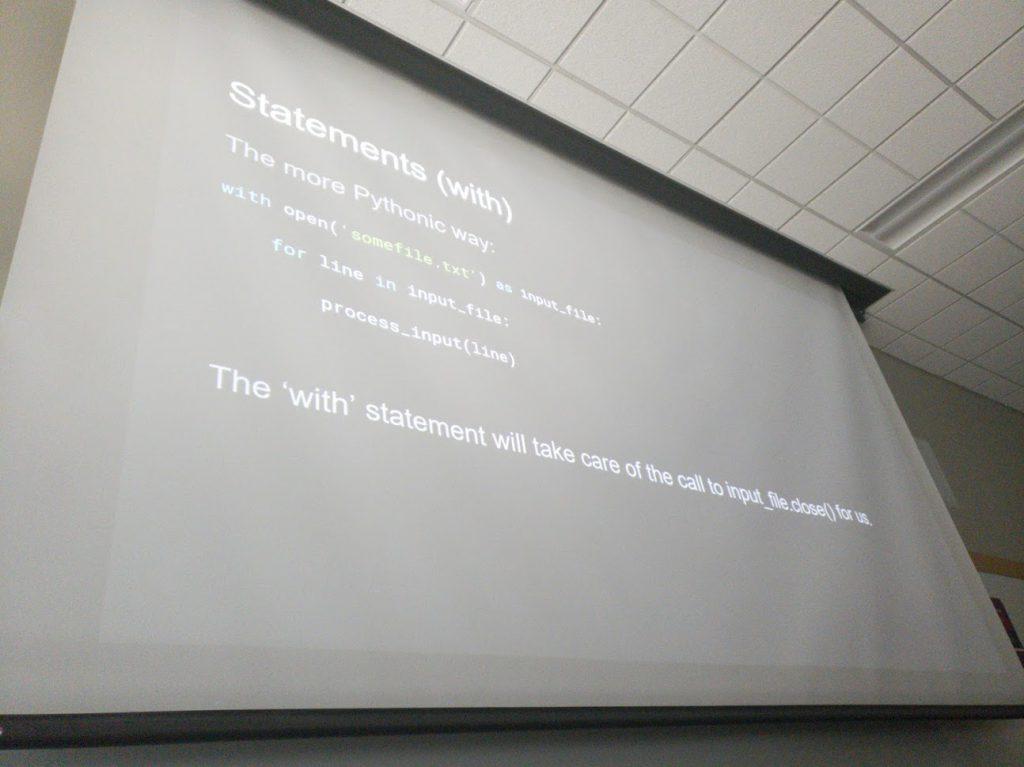 Pythonic Coding 1