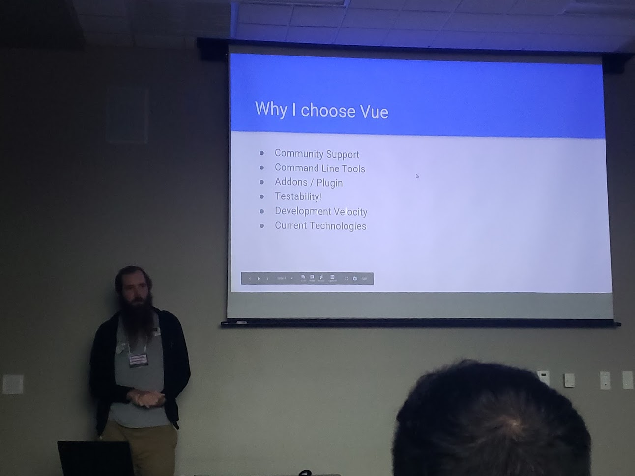 BarCamp 2019: Vue.js 2