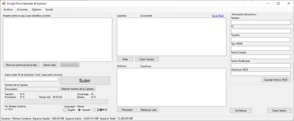 Google Drive Upload Tool v1.10.4
