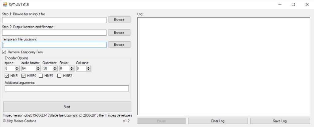 SVT-AV1 GUI v1.2