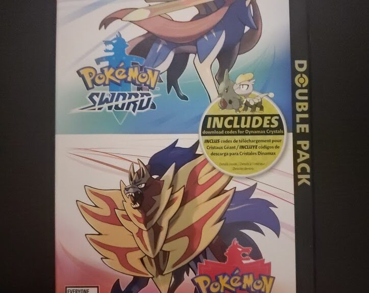 Pokémon Sword and Shield Double Pack - Front
