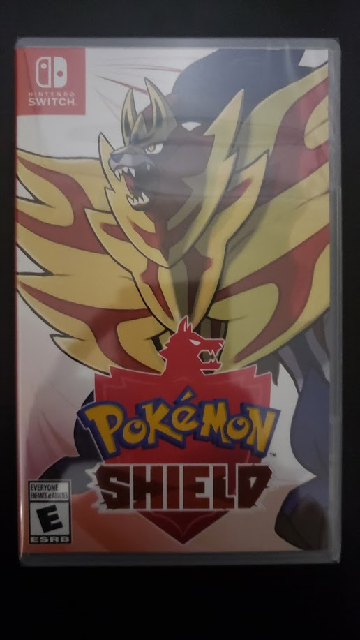 Pokémon Shield - Frente
