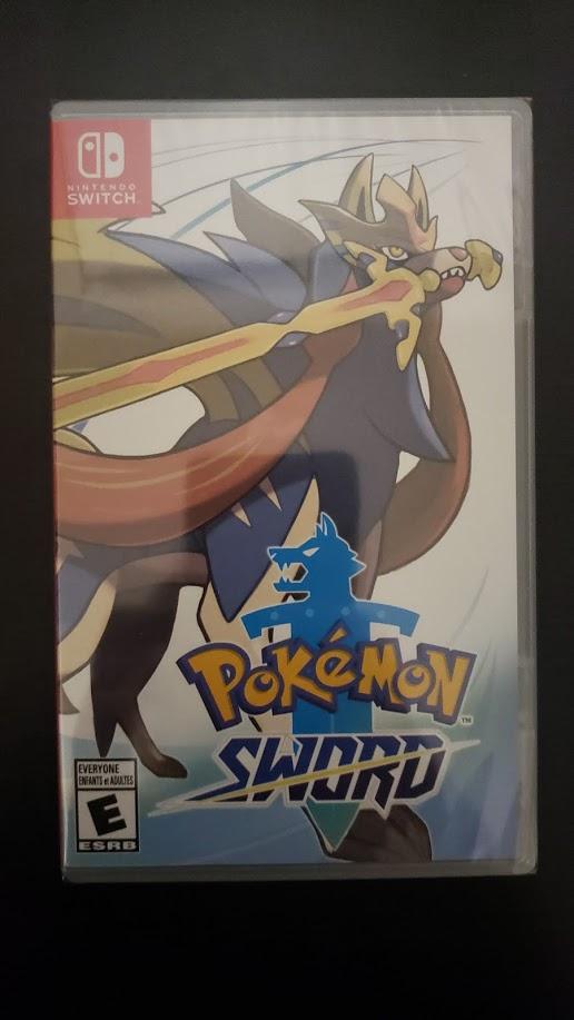 Pokémon Sword - Frente