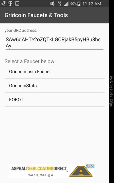 Gridcoin Faucets & Tools v1.3.2 Faucets