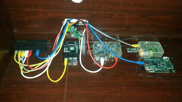 Raspberry Pi Cluster with Netis Switch
