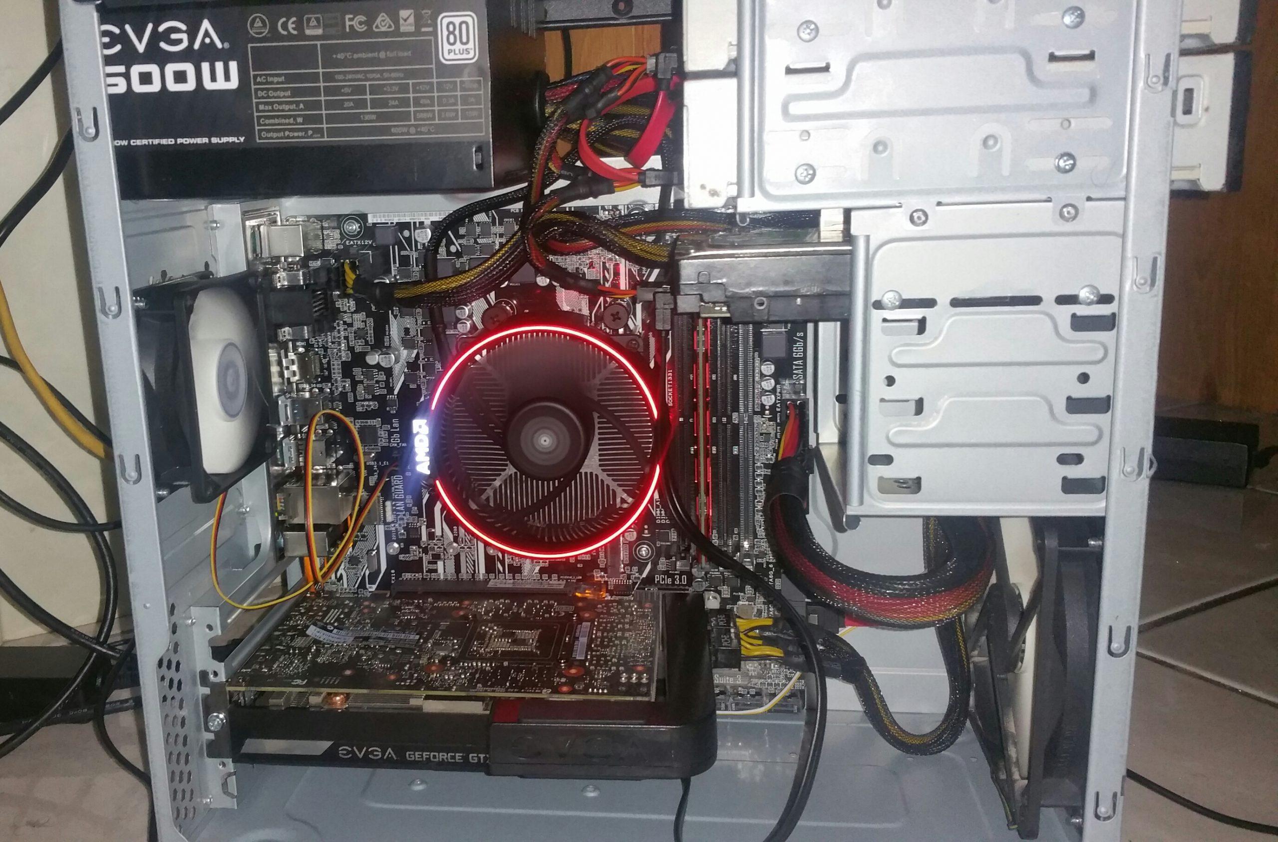 AMD Ryzen 7 1700 Build 2