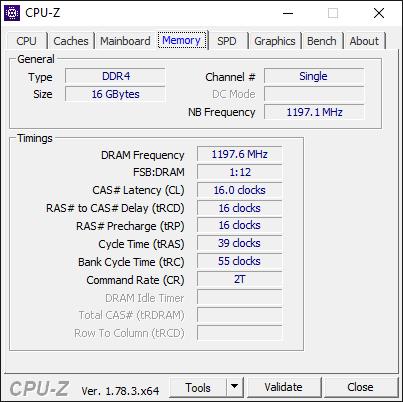 AMD Ryzen 7 1700 CPU-Z 2