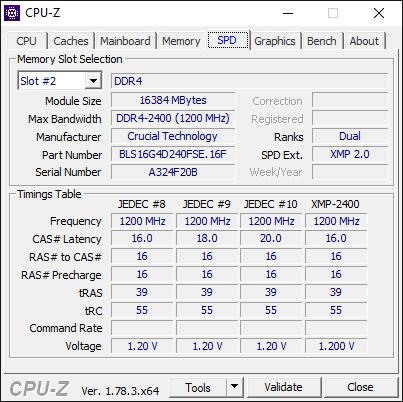 AMD Ryzen 7 1700 CPU-Z 3