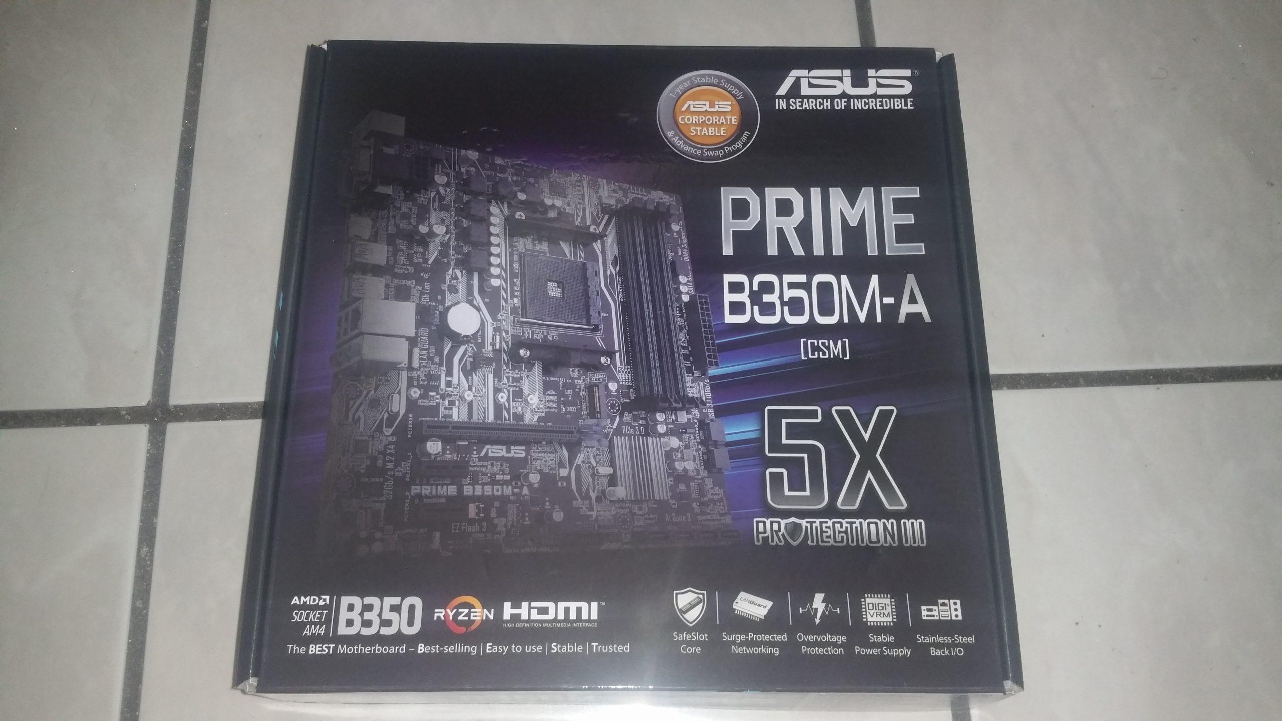 ASUS Prime B350M-A 1