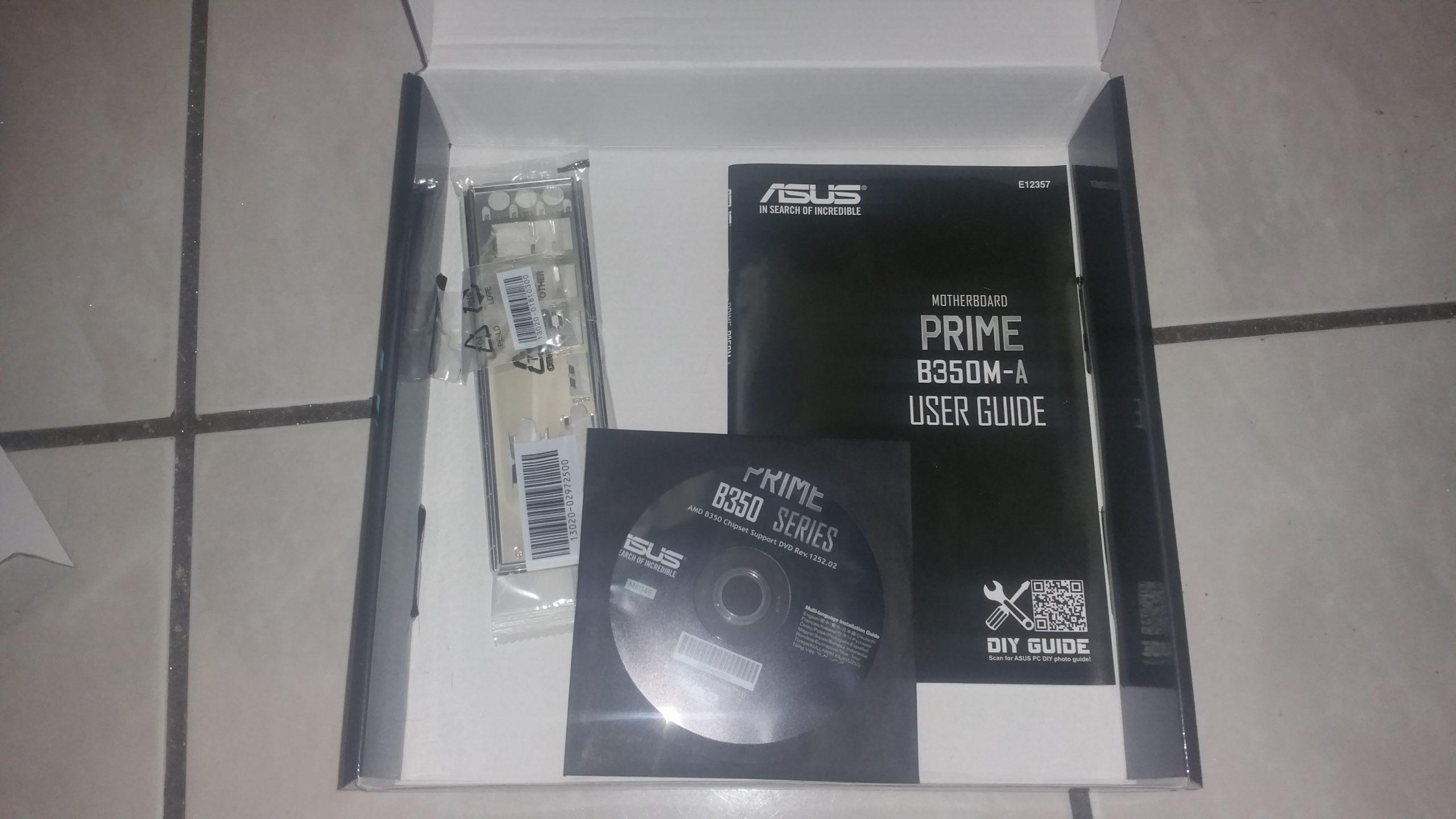 ASUS Prime B350M-A 5