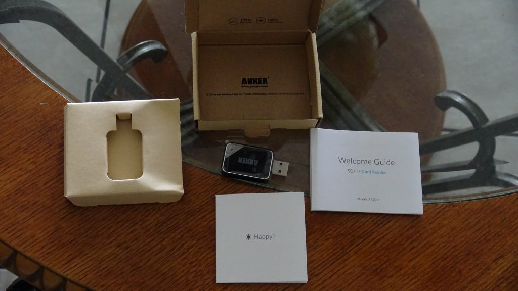 Anker USB 3.0 USB SD and Micro SD Reader - 6