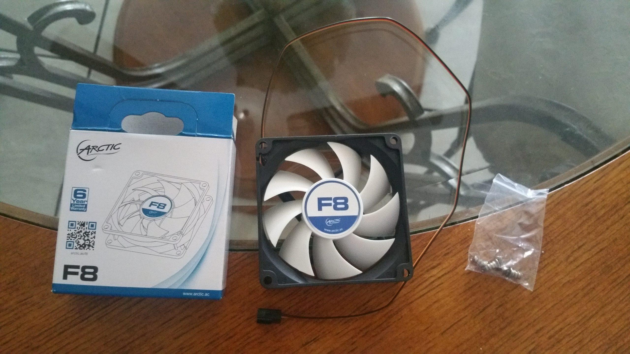 Arctic F8 PC Fan - 8