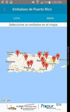 Embalses de Puerto Rico v1.8 - 2