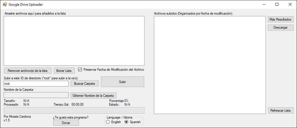 Google Drive Upload Tool v1.5