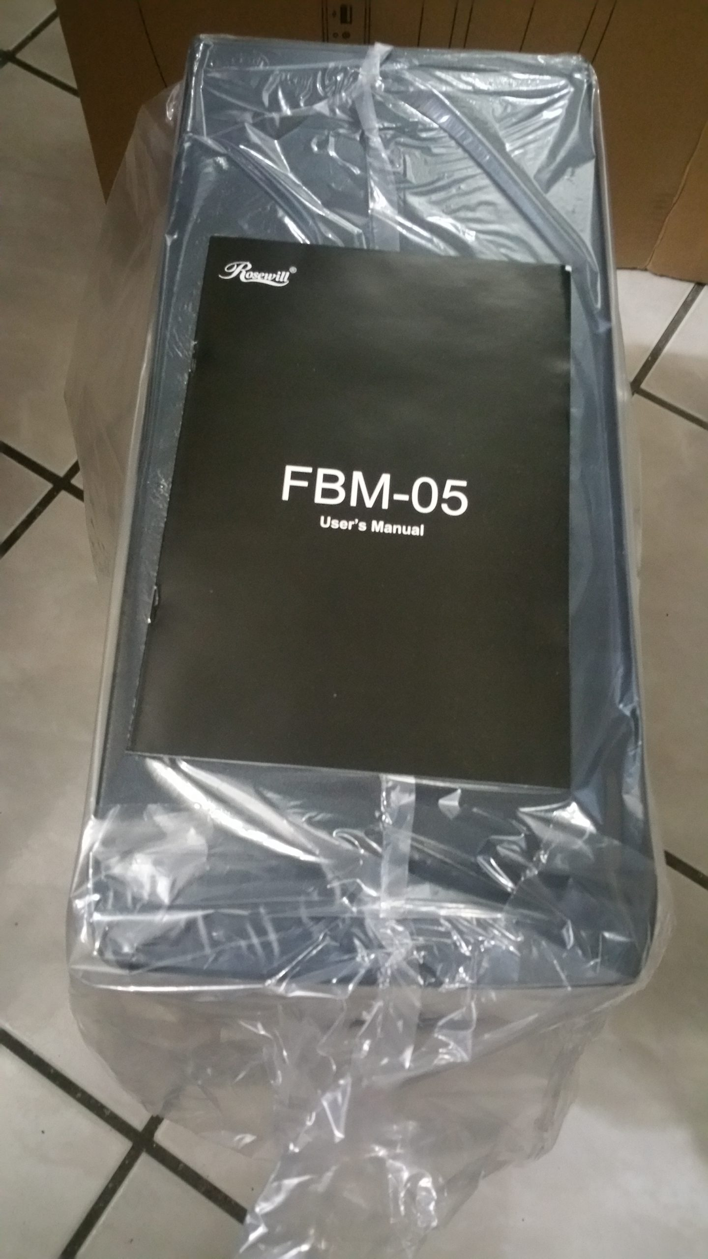 Manual of the Rosewill FBM-05 Case