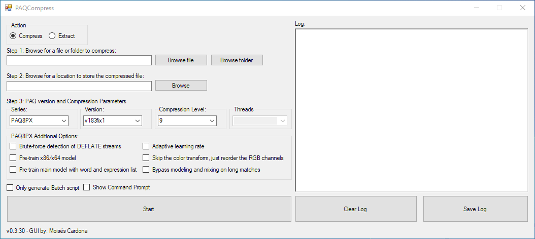 PAQCompress v0.3.30