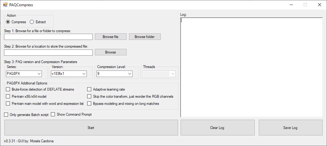PAQCompress v0.3.31