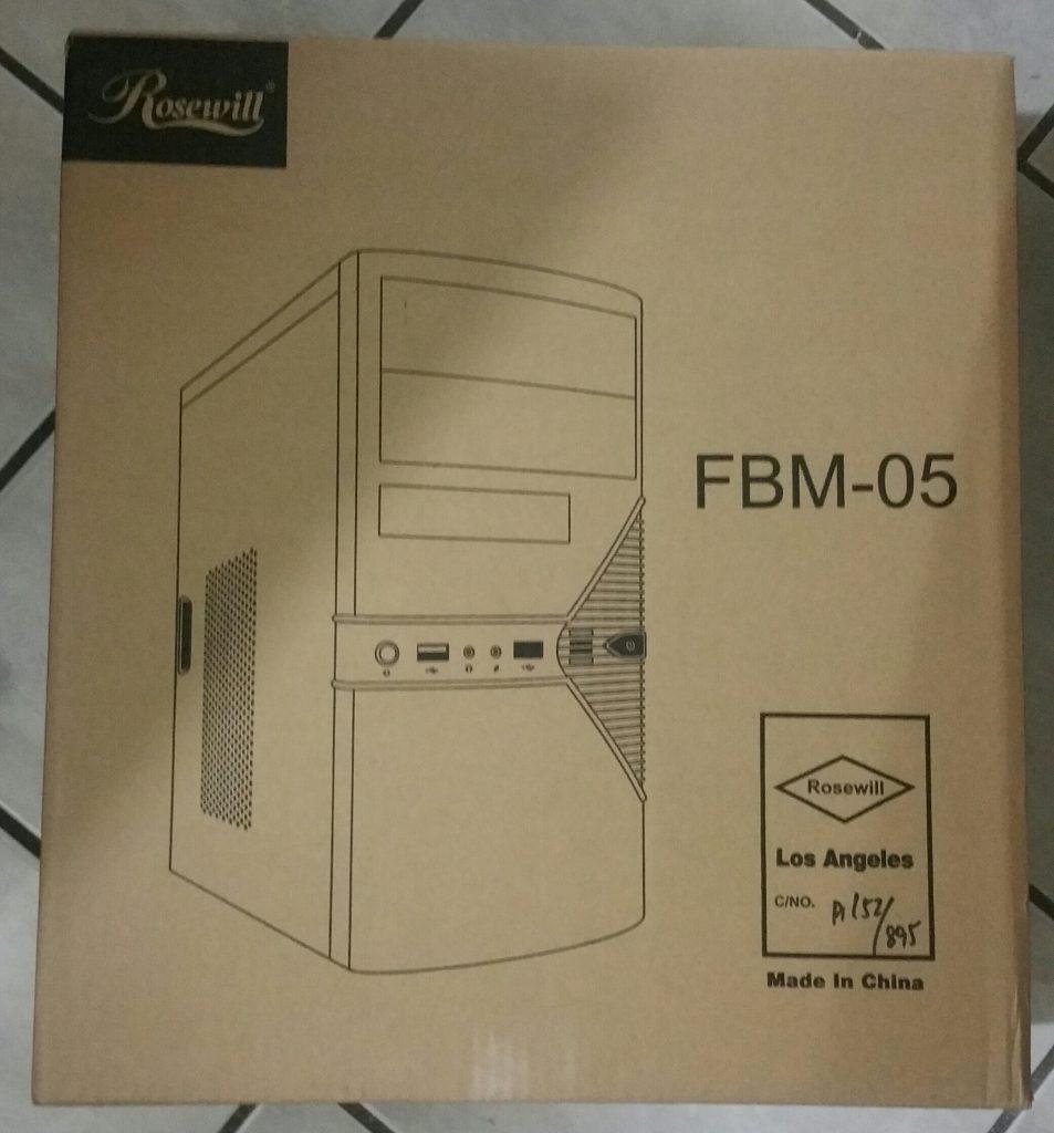 Caja del Rosewill FBM-05
