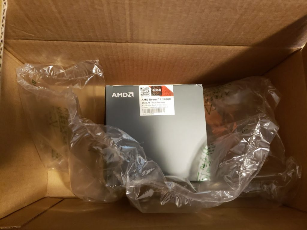 AMD Ryzen 7 2700X - 1