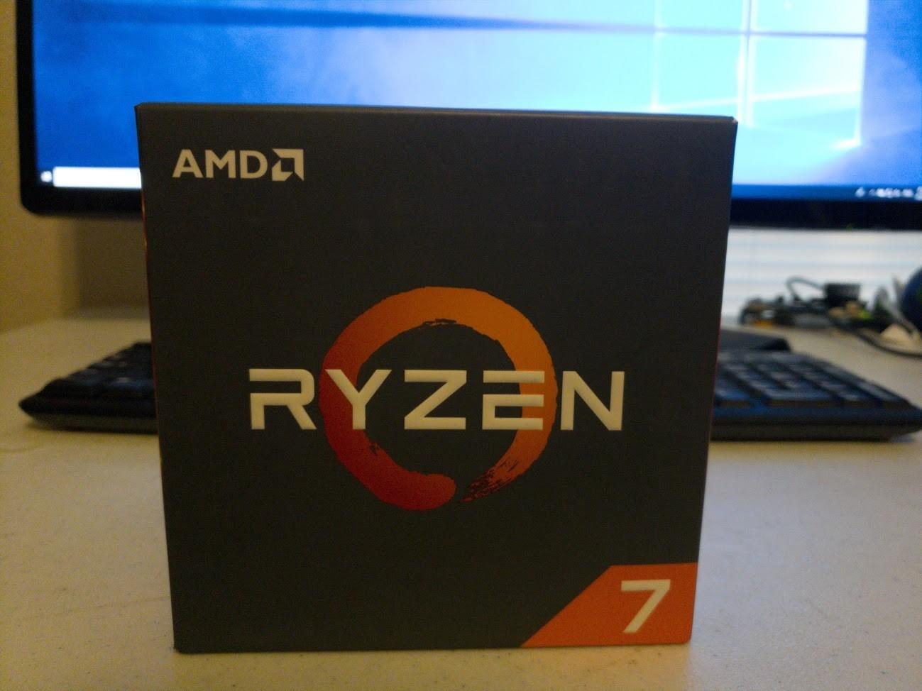 AMD Ryzen 7 2700X - 2