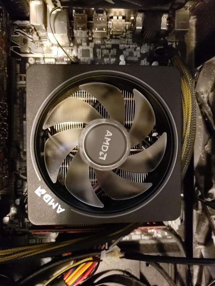 AMD Ryzen 7 2700X - 7