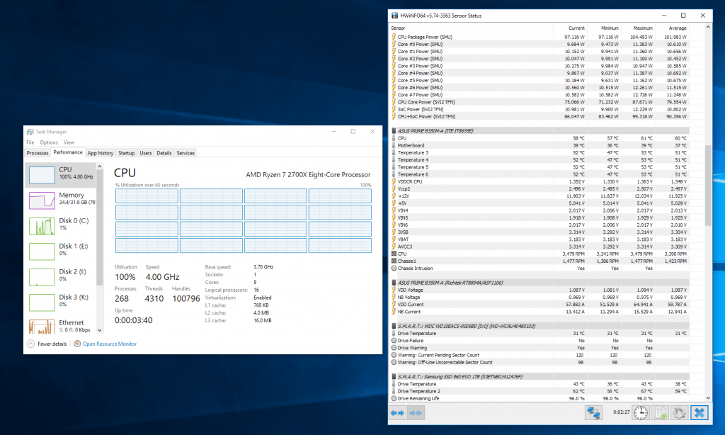 AMD Ryzen 7 2700X - 9