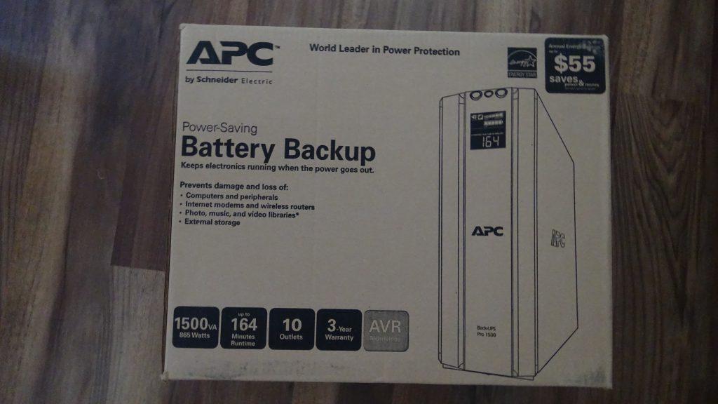 APC Back-UPS PRO 1500 (BR1500G) - 1
