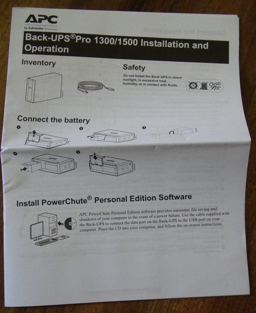 APC Back-UPS PRO 1500 (BR1500G) - 30