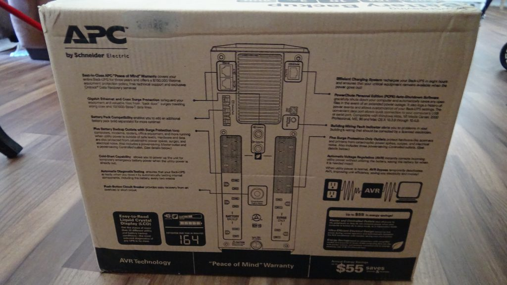 APC Back-UPS PRO 1500 (BR1500G) - 4