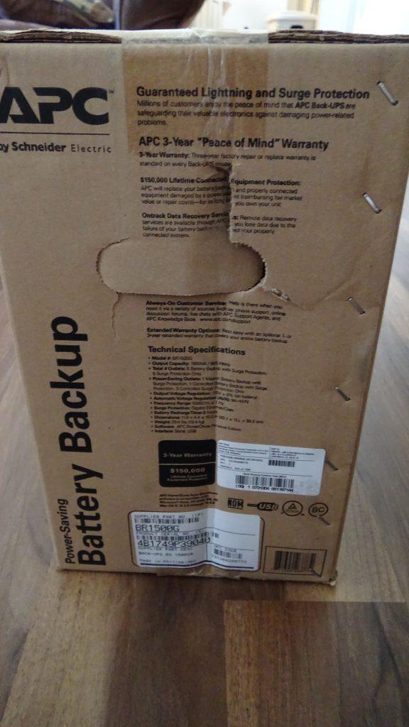 APC Back-UPS PRO 1500 (BR1500G) - 5