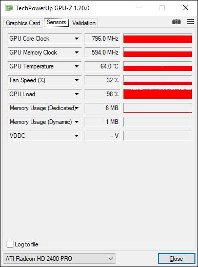ATI Radeon HD 2400 PRO Overclock 2