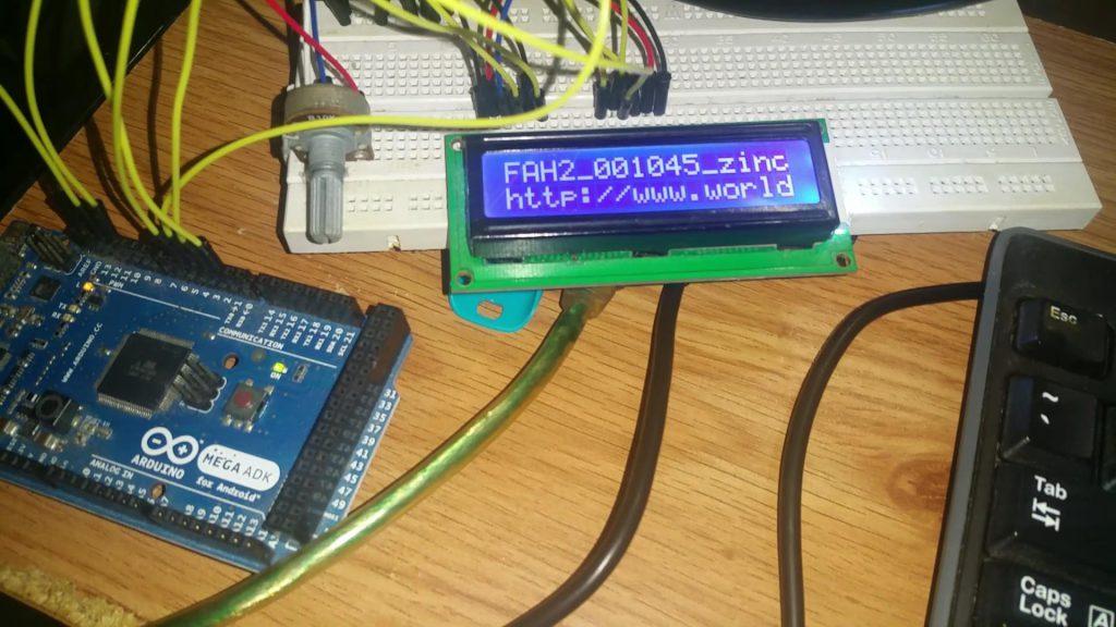 ArduBOINC on Arduino Mega ADK 1