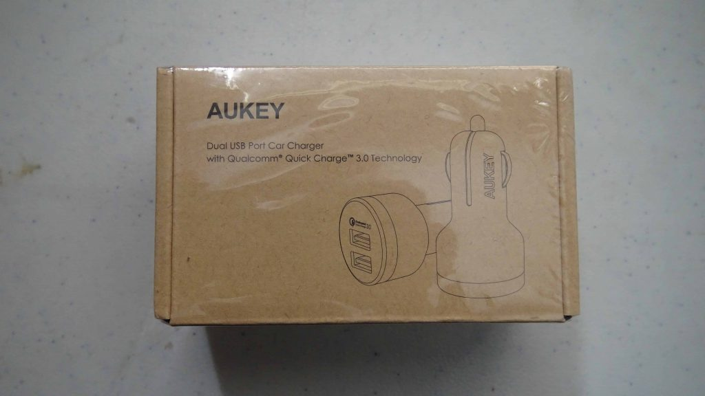 Aukey Dual USB Port Car Charger with Qualcomm Quick Charge 3.0 - 1