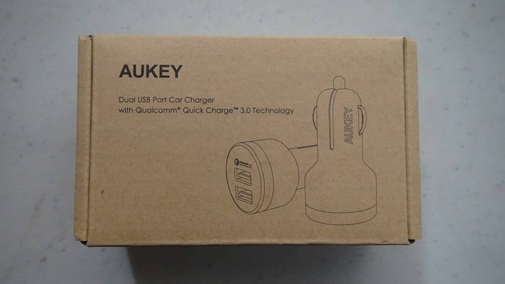 Aukey Dual USB Port Car Charger with Qualcomm Quick Charge 3.0 - 5