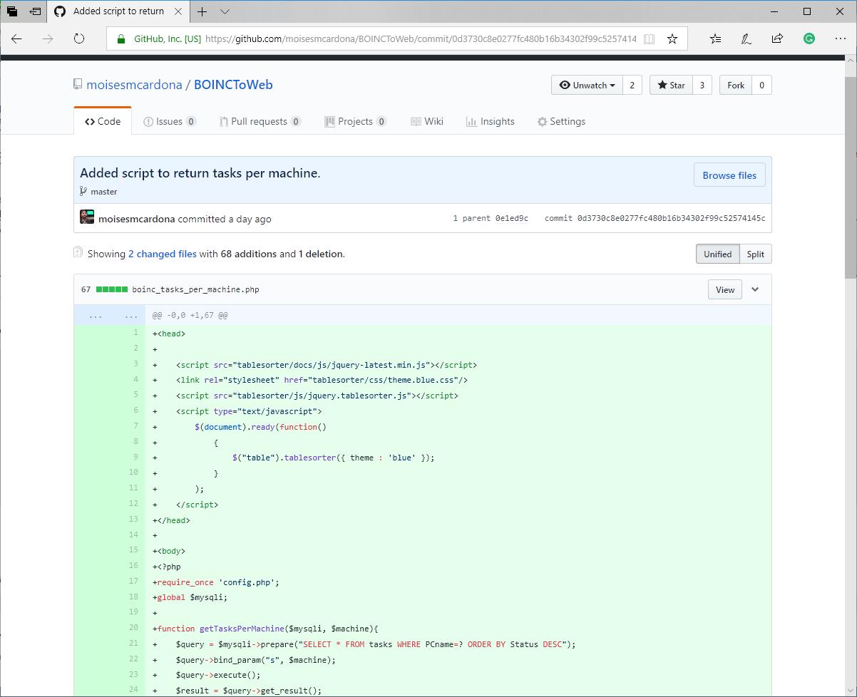 BOINC Statistics Website Update 6