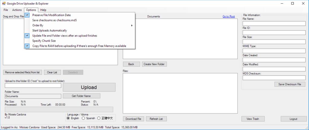 Google Drive Upload Tool v1.8 - 4